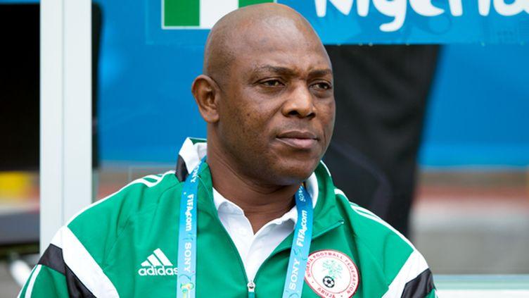 Le sélectionneur nigerian Stephen Keshi (  BEN QUEENBOROUGH / BACKPAGE IMAGES LTD)