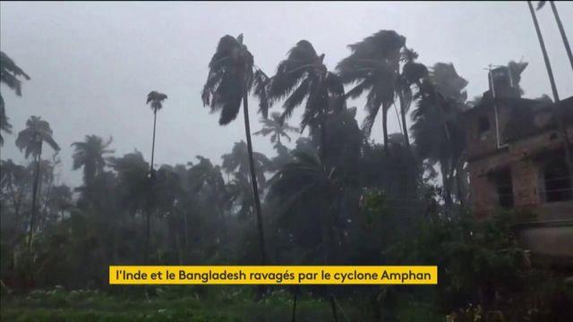 L'Inde et le Bangladesh ravagés par le cyclone Amphan