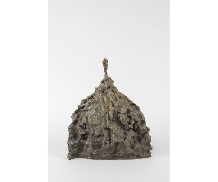 "Alberto Giacometti ""Buste d'homme"", 1956, Fondation Giacometti  (© Succession Alberto Giacometti (Fondation Giacometti + ADAGP) 2020)"