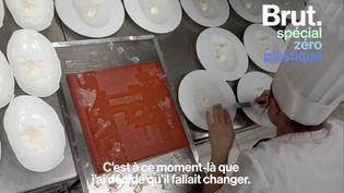 VIDEO. Dans les coulisses du Mirazur, le restaurant qui a dit stop au plastique (BRUT)