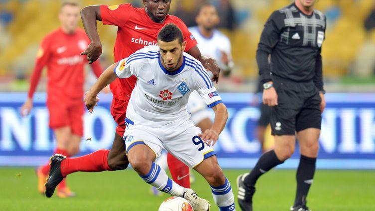 Younes Belhanda avec le Dynamo Kiev