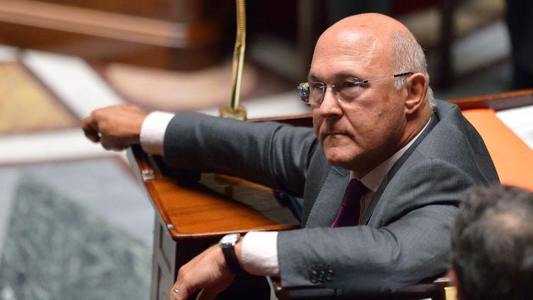 Michel Sapin, le ministre du Travail, à l'Assemblée nationale, à Paris, le 11 septembre 2012. (ERIC FEFERBERG / AFP)