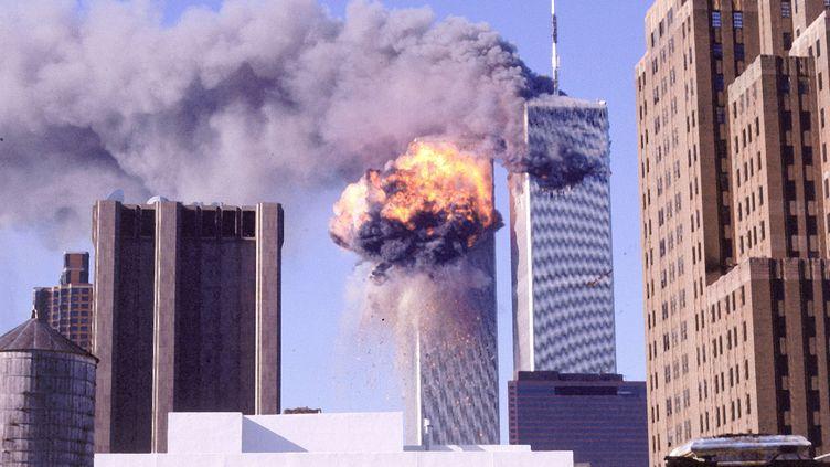 Attentat du World Trade Center à New York, le 11 septembre 2001 (BER MURPHY / THE LIFE IMAGES COLLECTION)