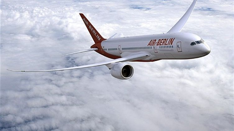 Un Boeing 787 Dreamliner aux couleurs d'Air Berlin (AFP / The Boeing Compagny / HO)