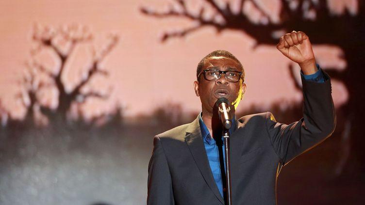 Le chanteur sénégalais Youssou'n'Dour fera la réouverture du Bataclan les 18 et 19 novembre 2016  (PHOTOPQR/LE PARISIEN)