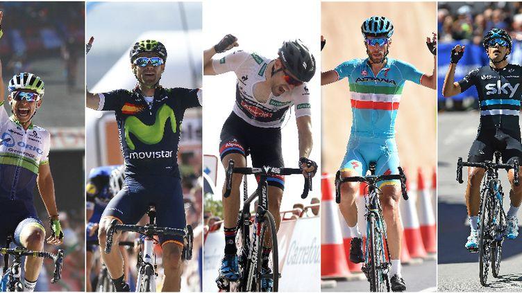 Chaves, Valverde, Dumoulin, Nibali et Landa restent les favoris du Giro d'Italie.