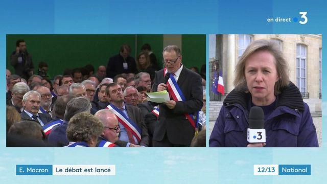 Grand débat : premier exercice réussi pour Emmanuel Macron