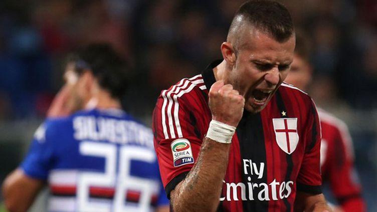 Jeremy Menez (AC Milan) (MARCO BERTORELLO / AFP)