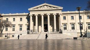 Le palais de Justice de Marseille (Bouches-du-Rhône). (NELLY ASSÉNAT / RADIOFRANCE)