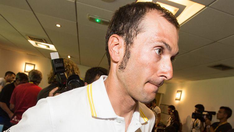 Ivan Basso avait annoncé son cancer en plein Tour de France cet été (MATTHIEU DE MARTIGNAC / MAXPPP)