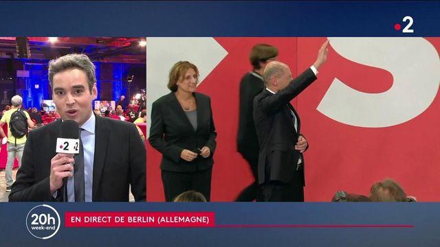 Élections en Allemagne : deux candidats au coude à coude, l'Élysée observe de près le scrutin