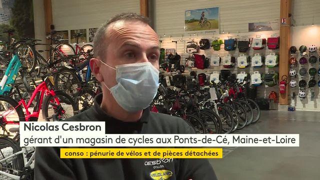 Pénurie de vélos et de pièces détachées