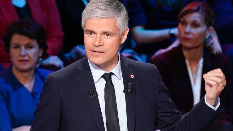 Laurent Wauquiez; le 10 avril 2019. (LIONEL BONAVENTURE / AFP)