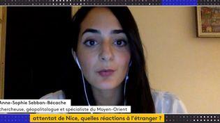 Anne-Sophie Sebban-Bécache (Capture d'écran Franceinfo)