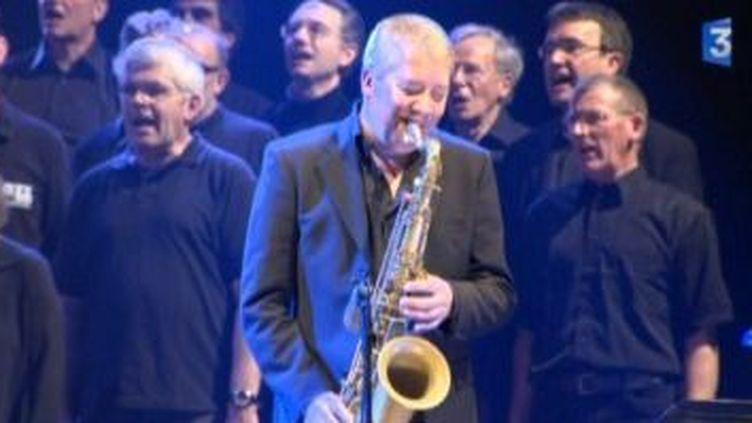 """Andy Sheppard présente """"Glossolalia"""" au Festival de Jazz sous les pommiers  (Culturebox)"""