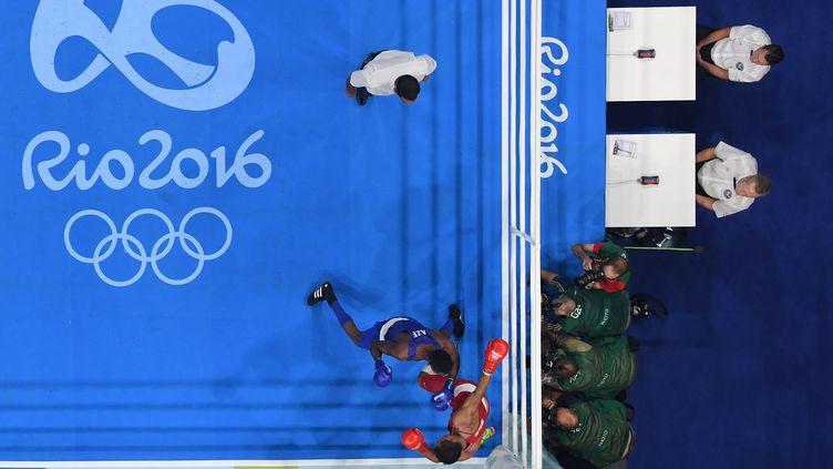 Le tournoi olympique de boxe à Rio en 2016 (POOL / POOL)
