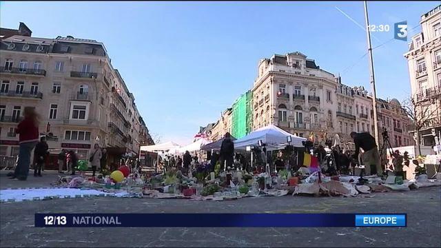 Attentats de Bruxelles : quatre jours après, les habitants restent prudents
