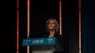 La présidente de la région Île-de-France, Valérie Pécresse. (ANDRE ALVES / HANS LUCAS)