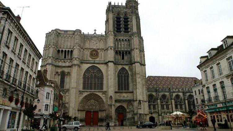 La Cathédrale de Sens (Yonne)  (RACKAM/SIPA)