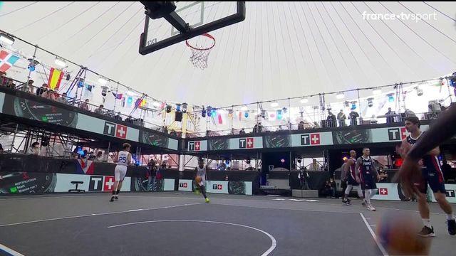 TQO Basket 3x3 (H) : les meilleurs moments de France vs Philippines