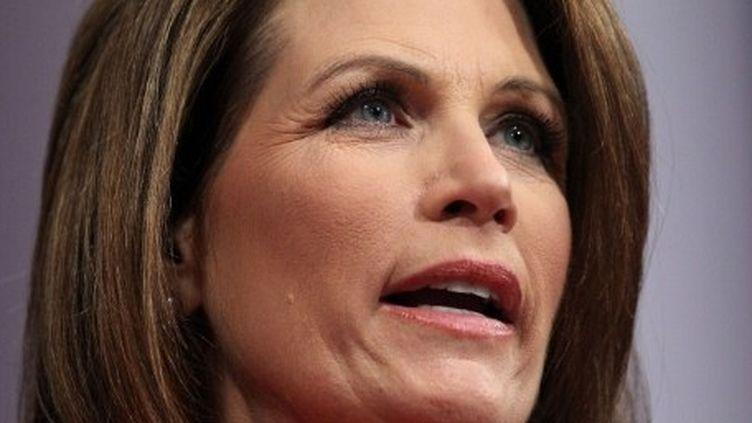 Michele Bachmann, candidate républicaine à l'investiture de son parti pour la présidentielle, en novembre 2012. (Alex Wong/Getty Images/AFP)