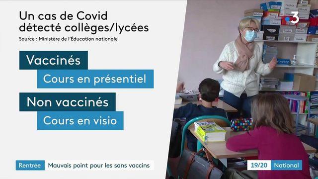 Rentrée scolaire : les sans-vaccins, au coin