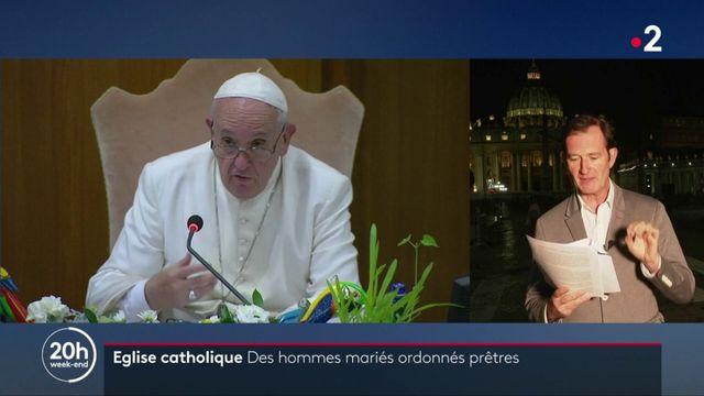 Église catholique : des hommes mariés pourront être prêtres en Amazonie