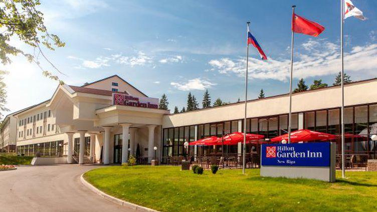 L'hôtel Hilton Garden Inn New Riga, à Istra (Russie), où l'équipe de France séjournera pendant le Mondial 2018. (FIFA)
