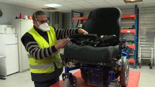 Envie Autonomie recycle et reconditionne des aides techniques médicales pour les revendre à bas prix. (France 3 Alsace)