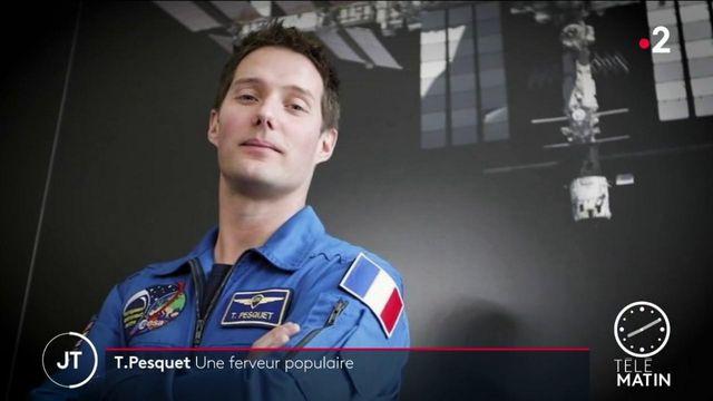 Espace: Thomas Pesquet, astronaute star à la ferveur populaire