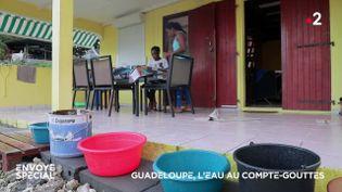 Envoyé spécial. Guadeloupe : l'eau au compte-gouttes (ENVOYÉ SPÉCIAL  / FRANCE 2)