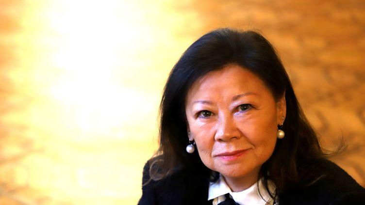 Jeanne d'Hauteserre, maire du 8 arrondissement de Paris, le 20 novembre 2019. (DELPHINE GOLDSZTEJN / MAXPPP)