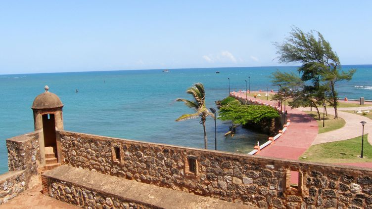 (Fortifications à Puerto Plata en République dominicaine © Maxppp)