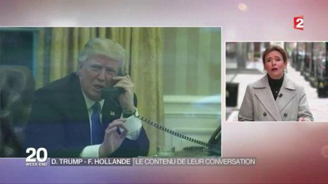 D. Trump-F. Hollande : le contenu de leur conversation