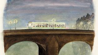 """""""L'autobus"""", Jean-Jacques Sempé, 2000 (ARTCURIAL)"""