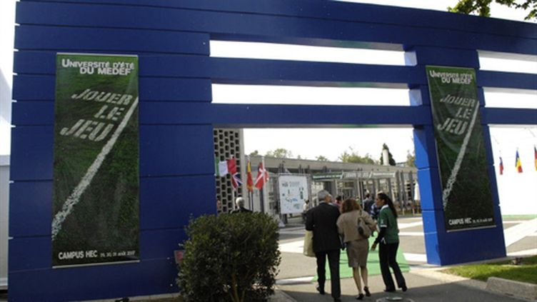 Campus HEC en 2007 (AFP/STEPHANE DE SAKUTIN)
