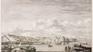 Syracuse, chantée par tous les poètes. La célèbre cité sicilienne a toujours fait rêver les voyageurs. Gravure du XVIIIe. (DEA / ICAS94 / DE AGOSTINI EDITORIAL VIA GEYTTY IMAGES)