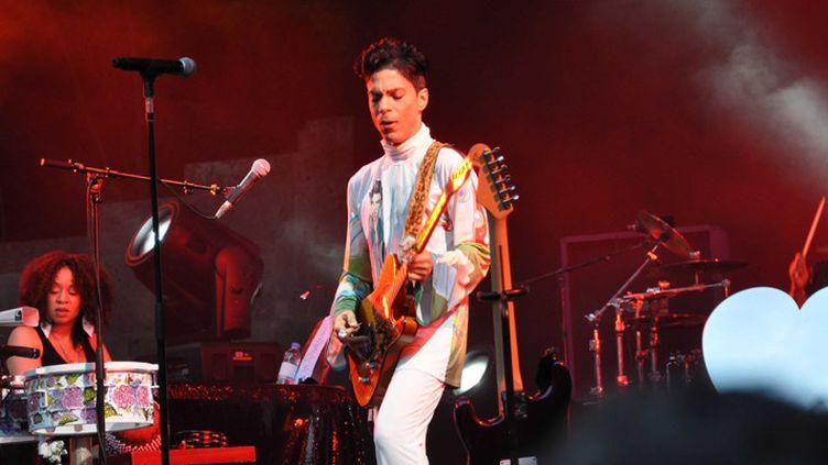 Prince sur scène à Berlin le 5 juillet 2010  (Sipa)