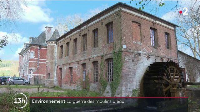Normandie : les moulins à eau disparaissent peu à peu au profit des poissons migrateurs