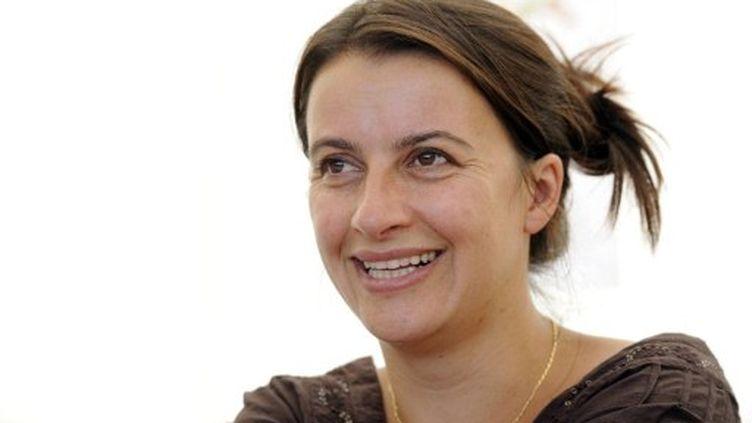 Cécile Duflot, secrétaire nationale d'EELV (BERTRAND GUAY / AFP)