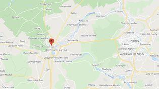 La fête sauvage avait démarré dimanche à 5h30 du matindans le secteur du bois du Tillot à la sortie de Toul (Meurthe-et-Moselle). (GOOGLE MAPS)