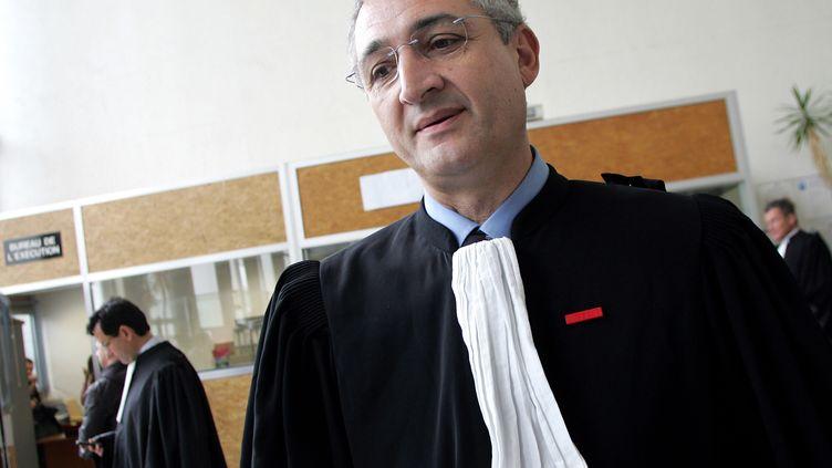 L'avocat Gérard Chemla, le 29 avril 2008. (ALAIN JULIEN / AFP)