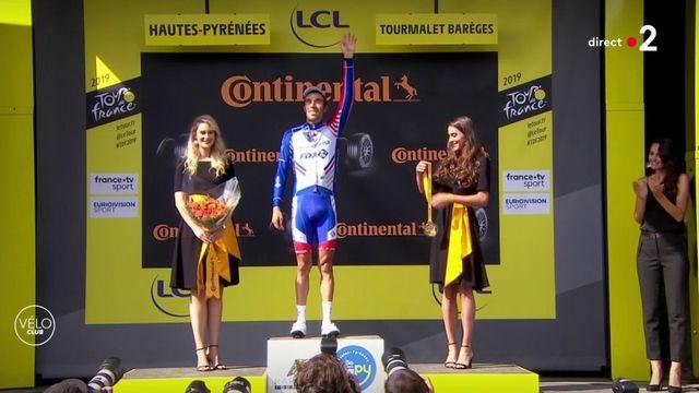 Tour de France 2019 : Thibaut Pinot sur le podium