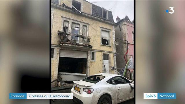Une puissante tornade a touché le Luxembourg