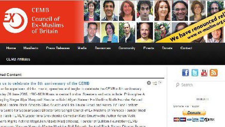 Capture d'écran du site des ex-Musulmans. (Capture d'écran/FTV)
