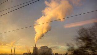 Une usine à Argenteuil (Val d'Oise) le 9 décembre 2020. Illustration (BRUNO LEVESQUE / MAXPPP)