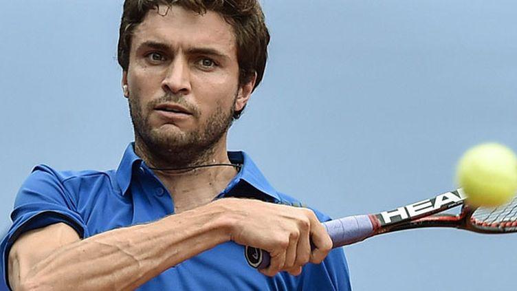 Le tennisman français Gilles Simon
