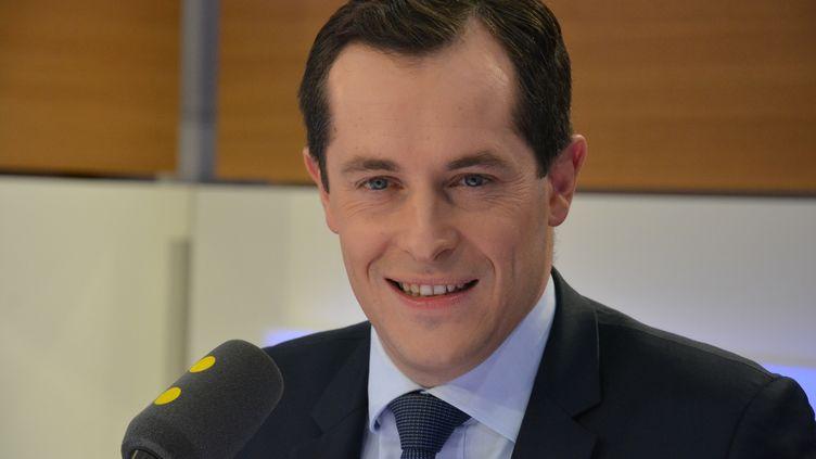 Nicolas Bay, secrétaire général du Front national. (JEAN-CHRISTOPHE BOURDILLAT / RADIO FRANCE)