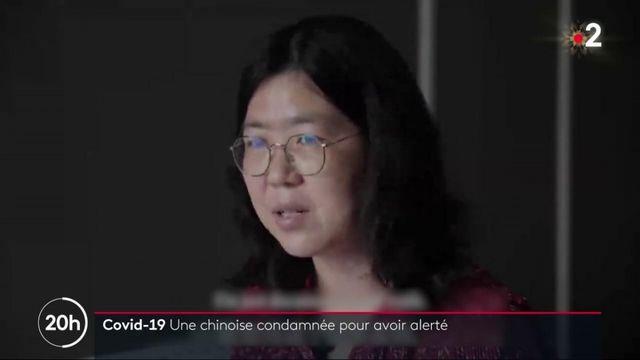 Chine : une journaliste condamnée à quatre ans de prison pour ses reportages à Wuhan