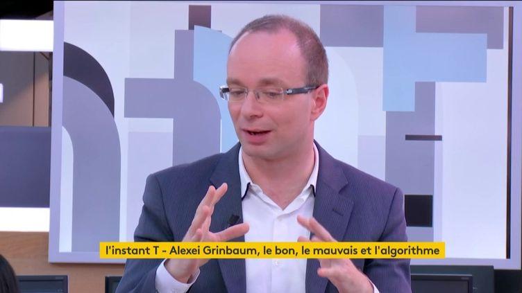 L'instant T d'Alexeï Grinbaum et des robots (FRANCEINFO)